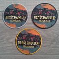 Bathory - Blood Fire Death Round Patch (All Borders)
