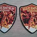 Bathory - Hammerheart Shield Patch (Both Versions)