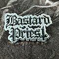 Bastard Priest - Black Logo Pin  Pin / Badge