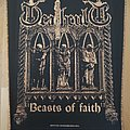 Deathcult - Patch - Deathcult - Beasts Of Faith Back Patch