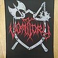 Vomitory - Logo / Shield Back Patch