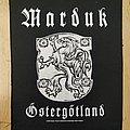Marduk - Östergötland Back Patch