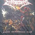 Dismember - Where Ironcrosses Grow / World Tour 2004 T-Shirt