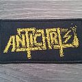 Antichrist - Logo Patch (Yellow)