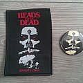 Heads For The Dead - Serpent´s Curse Patch & Pin Bundle