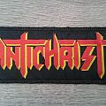 Antichrist - Logo Patch (Red / Yellow)