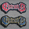 Entrails - Logo Patch (Both Colours)