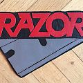 Razor Leather Backpatch