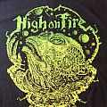 HIGH ON FIRE - TShirt or Longsleeve - New High On Fire Tour T-Shirt