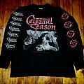 Celestial Season ~ Solar Lovers Long Sleeve XL 1995  TShirt or Longsleeve