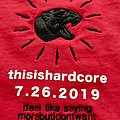 Code Orange - THIS IS HARDCORE 2019 DO YOU DIG!!!!!! Tour shirt