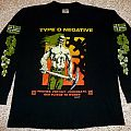 Type O Negative - Vinland Flag/Pledge Provide.Protect.Procreate Women 1995 Long Sleeve TShirt or Longsleeve