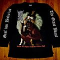 Mystic Circle - Raped all Angels of Heaven in one Night/The Great Beast longsleeve TShirt or Longsleeve