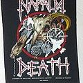Napalm Death back patch