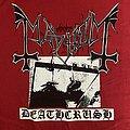 """Mayhem - """"Deathcrush"""" shirt"""