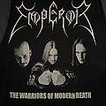 """Emperor - """"Warriors of Modern Death"""" shirt"""