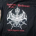 Apokalyptic Raids / Warhammer apocalyptic war shirt size L two-sided