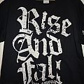 Rise And Fall - TShirt or Longsleeve - t-shirt