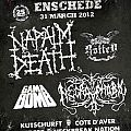 Napalm Death - Other Collectable - gig flyers