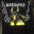 Bathory - yellow goat  cover - size L