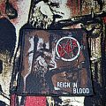 Slayer Vintage Reign In Blood Patch