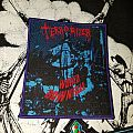 Terrorizer World DownFall Rare Boot Patch
