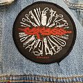 "Carcass  ""Surgical Tools"" Vintage Circle Patch"