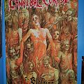 "Cannibal Corpse ""The Bleeding"" Offical Flag Other Collectable"