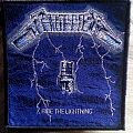 Metallica Ride the Lightning Patch