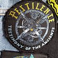 Pestilence Testimony of the Ancients Vintage Circle Patch