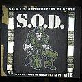 S.O.D. - Patch - SOD Saergent D Patch