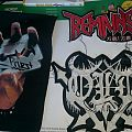 Judas Priest Backpatch and Remains & Old Backshape