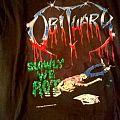 obituary original slowly we rot shirt