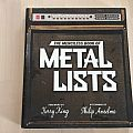 the merciless book of metal lists book