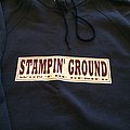 STAMPIN GROUND hooded shirt