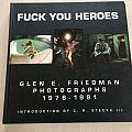 fuck you heroes photobook