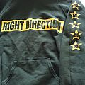 right direction hooded sweater