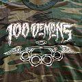 100 Demons - TShirt or Longsleeve - 100 demons t-shirt