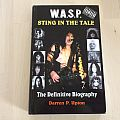 w.a.s.p. sting in the tale book Other Collectable
