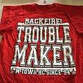 """BACKFIRE """"troublemaker"""" t-shirt"""