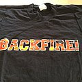 "Backfire - TShirt or Longsleeve - BACKFIRE "" one off test print""t-shirt"