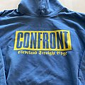 "Confront - Hooded Top - CONFRONT ""one life drugfee"" hooded sweatshirt bootleg"