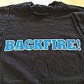 "BACKFIRE ""the war starts here"" t-shirt"