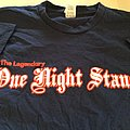 "ONE NIGHT STAND "" you wear yours"" t-shirt"