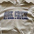 """ODK CREW """"true warriors"""" hooded sweatshirt"""