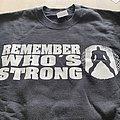 "RYKERS ""remember whos strong"" Kassel crew hardcore crewneck"