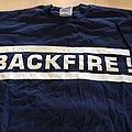 "BACKFIRE ""who told you life is easy"" t-shirt"