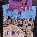 *WANTED* Death - Leprosy blue grape 1990 *WANTED* TShirt or Longsleeve