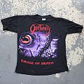 Obituary - Cause Of Death / World Demise tour shirt