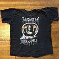 Napalm Death - Life 1990 uk & European tour shirt
